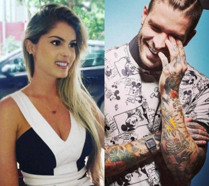 Bárbara Evans e Mateus Verdelho (Crédito: Reprodução)