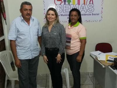 Reunião com o gestor e representantes do municipio