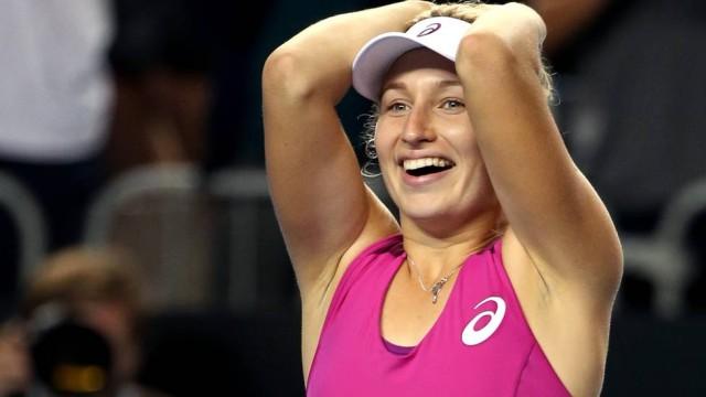 Atleta sorriu após gafe (Crédito: Reprodução)