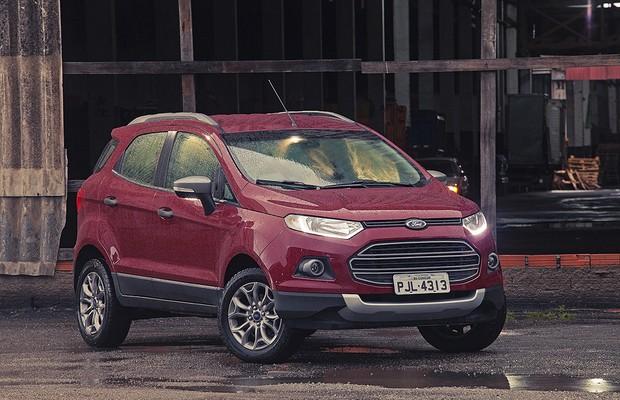 Ford Ecosport (Crédito: Reprodução)