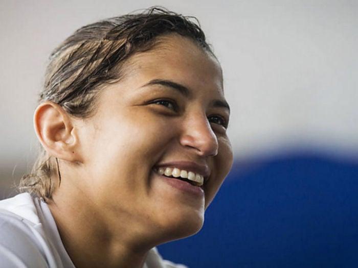 Sarah Menezes (Crédito: Folha)