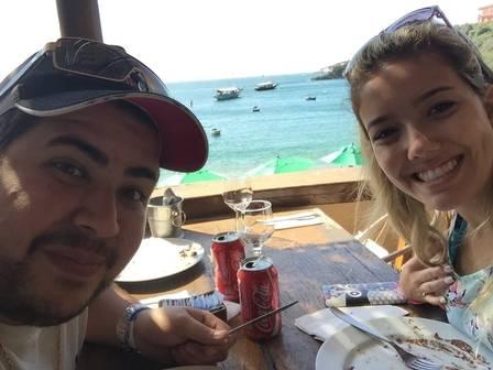 Higor e Rafaella (Crédito: Reprodução)