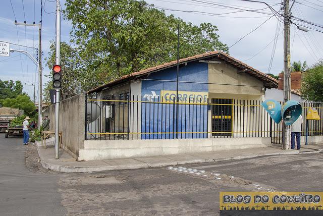 Correios da cidade de Cocal (Crédito: Reprodução)