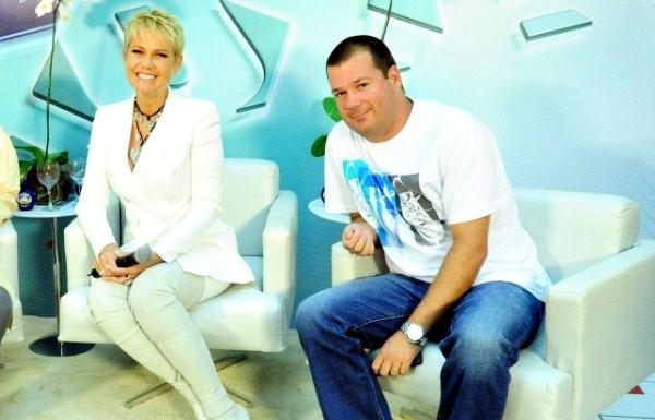 Xuxa e Mariozinho Vaz, na época do TV Xuxa (Crédito: Divulgação )