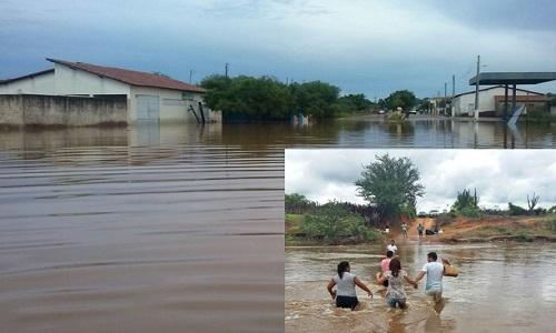 Cidade inundada (Crédito: Reprodução)