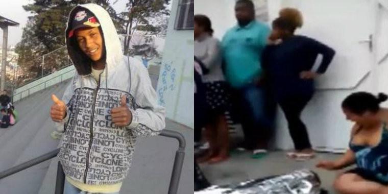 Policial mata estudante de 17 anos com tiro nas costas em S.Paulo