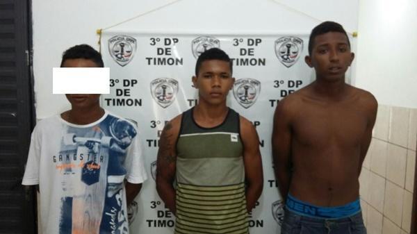 Lailson Reis de Oliveira, Eduardo Rodrigues dos Anjos da Silva e o menor de 16 anos