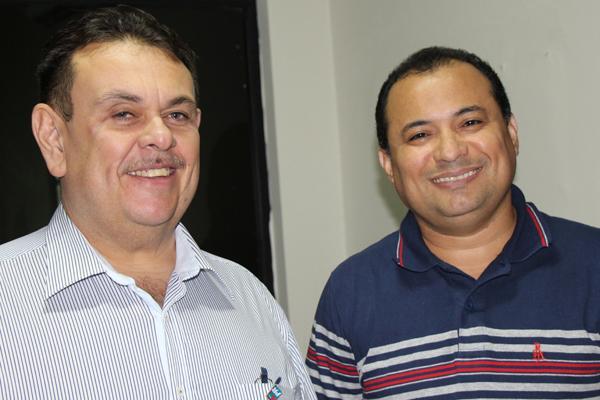 Silas Freire e Evaldo Gomes (Crédito: Germana Chaves)