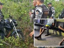 PI: Menores de 16 são apreendidos e moto é recuperada em matagal