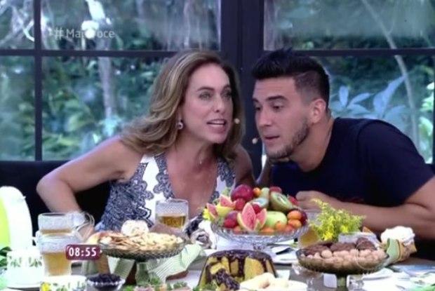 Cissa Guimarães elogiou o amigo (Crédito: Reprodução)
