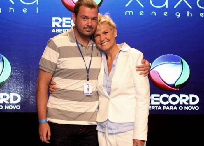 Mariozinho Vaz e Xuxa  (Crédito: AgNews)