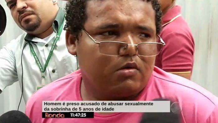 Acusado negou e afirmou ser inocente (Crédito: Reprodução/TV Meio Norte)