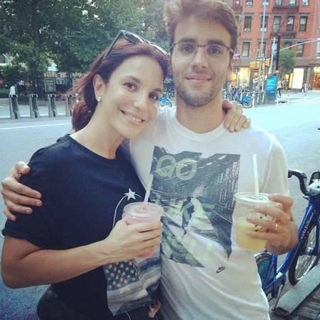 Ivete e seu marido Daniel (Crédito: Divulgação)