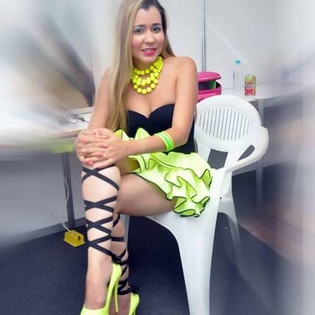 Carla é cantora e mora na Bahia (Crédito: Divulgação)
