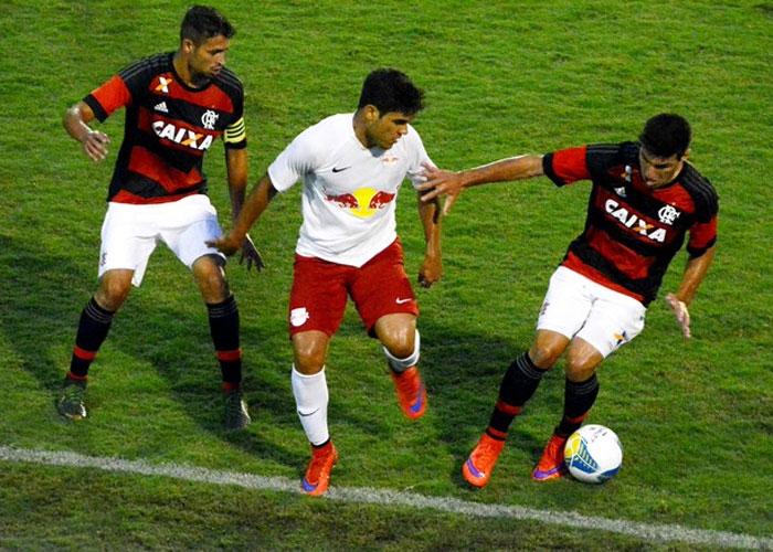 Flamengo venceu o RB Brasil (Crédito:  Nicholas Modesto)