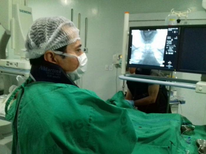 Neurocirurgião Arquimedes Cavalcante  (Crédito: Ascom HGV)