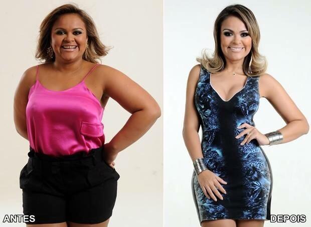 Após câncer e conselho de Solange Almeida, Samyra Show perde 46 kg