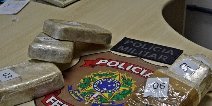 PF apreende 5 Kg de pasta base de cocaína no litoral do Piauí