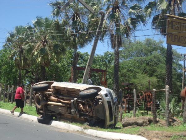 Acidente em Floriano (Crédito: Divulgação)