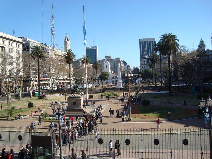 Ponto turístico em Buenos Aires
