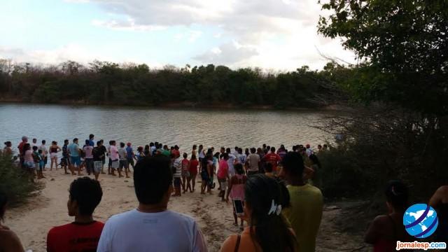 Rio em que o jovem se afogou (Crédito: Reprodução)