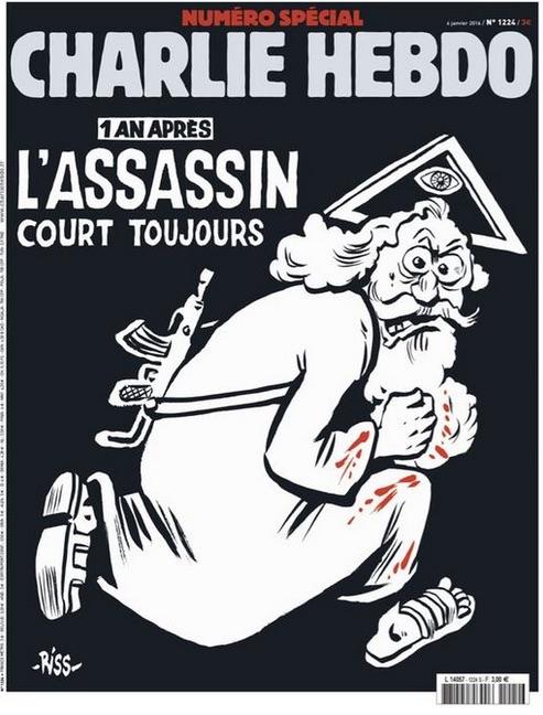 Revista Charlie Hebdo (Crédito: Reprodução)