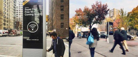 Orelhões dão lugar a Wi-Fi em Nova York (Crédito: Reprodução)