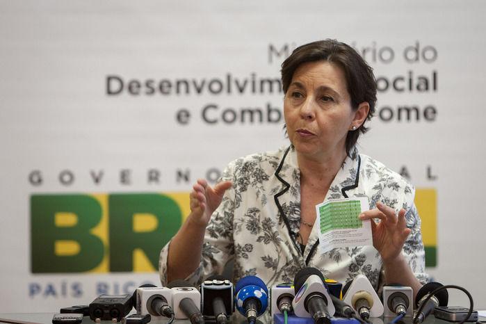 Ministra do Desenvolvimento Social e Combate à Fome (Crédito: Reprodução)