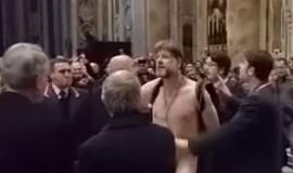 Brasileiro é detido após entrar pelado na Basílica de São Pedro