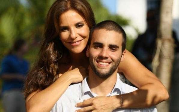 Ivete Sangalo e seu marido Daniel Cady  (Crédito: Divulgação )
