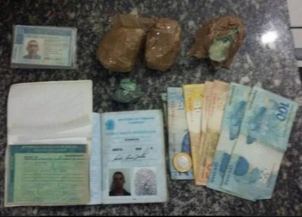Três piauienses são presos com cocaína e dinheiro em Pernambuco
