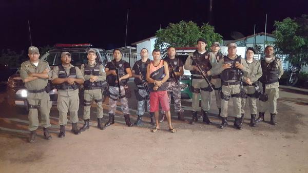 Edvaldo Bezerra da Silva foi preso dentro de um ônibus em Paulistana