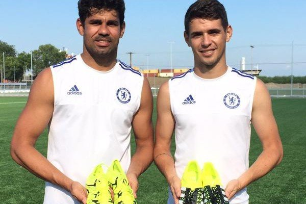 Diego Costa e Oscar
