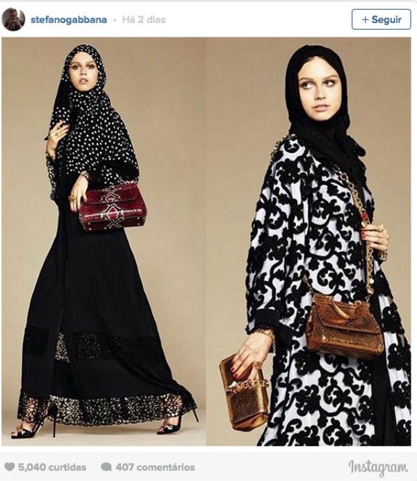 Nova coleção da Dolce & Gabbana