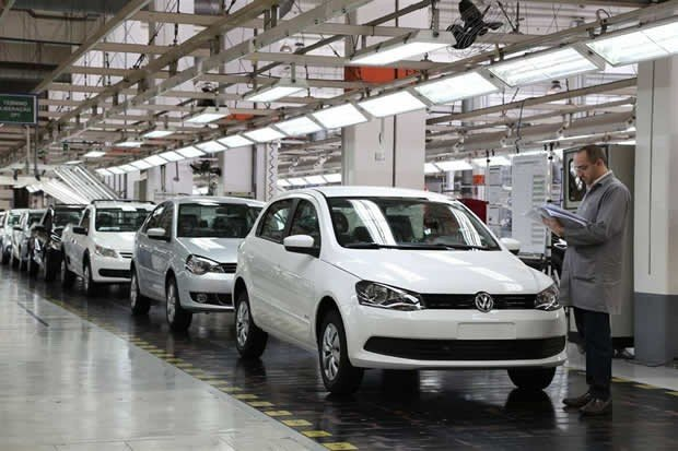 Fábrica Volkswagen em Anchieta