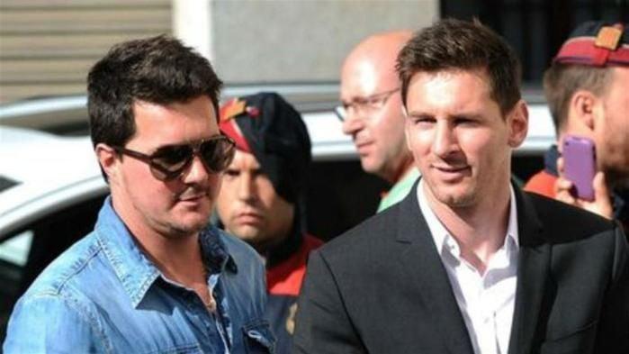 Matias Messi e o irmão (Crédito: Reprodução)