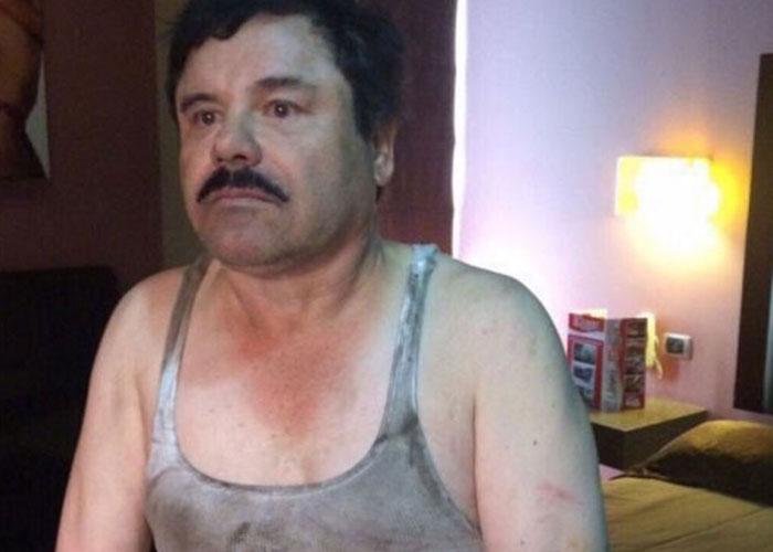 El Chapo foi preso  (Crédito: Divulgação)