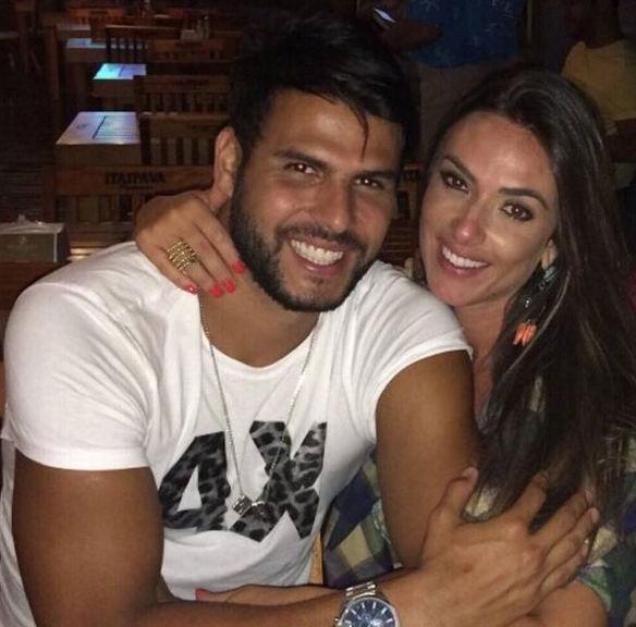 Nicole Bahls e Marcelo (Crédito: Reprodução)