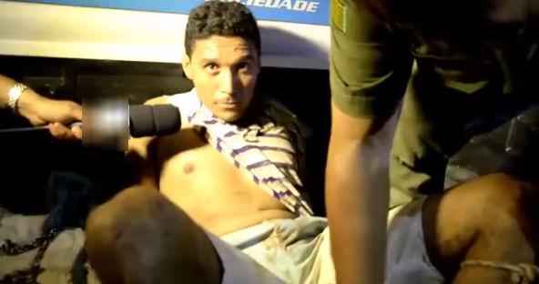 Tiago foi preso acusado de atropelar e matar Remédios, na sexta-feira, dia 08