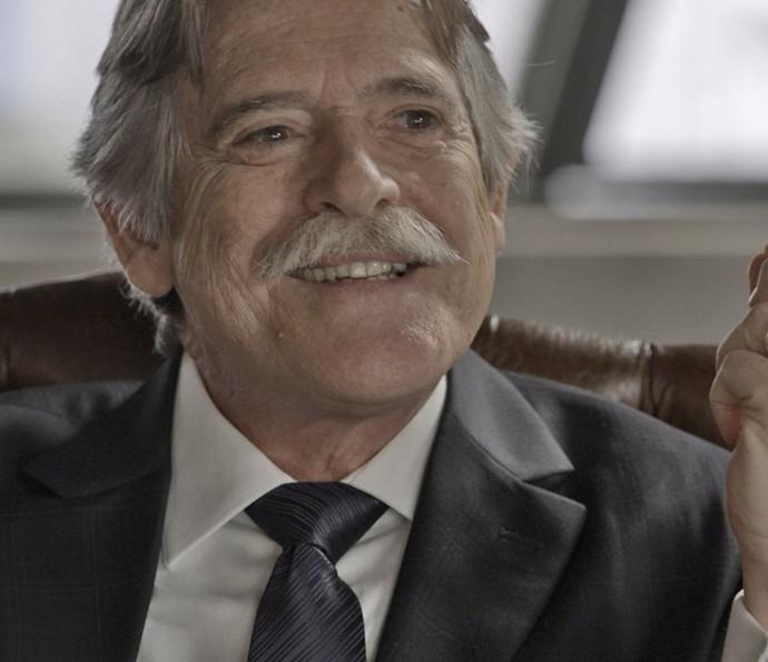 """José de Abreu, o Gibson de """"A Regra do Jogo"""""""