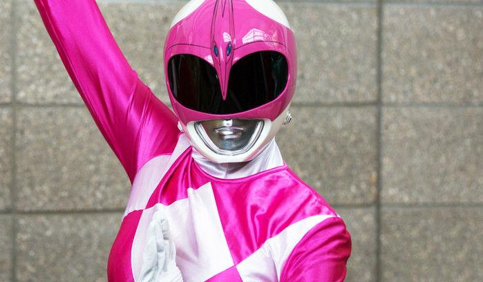 Power Ranger Rosa, Kimberly (Crédito: Reprodução)