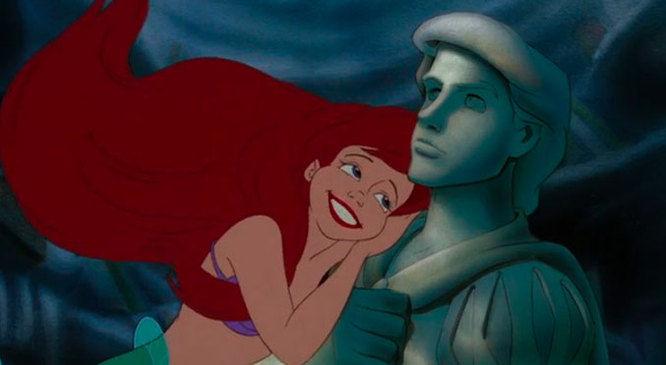 Ariel e A pequena sereia (Crédito: Reprodução)