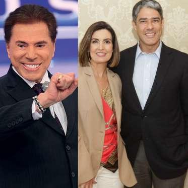 Silvio Santos ironiza separação de Fátima e William