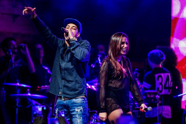 Anitta volta aos palcos após descobrir cisto nas cordas vocais (Crédito: Manuela Scarpa/Brazil News)