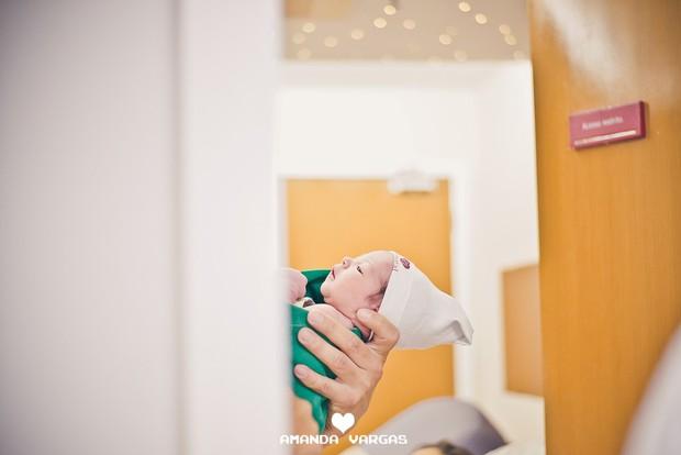 Nasce o primeiro filho de Aryane Steinkopf e Beto Malfacini (Crédito: Reprodução)