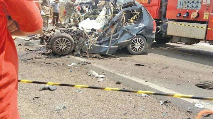 O acidente ocorreu em Marcolândia