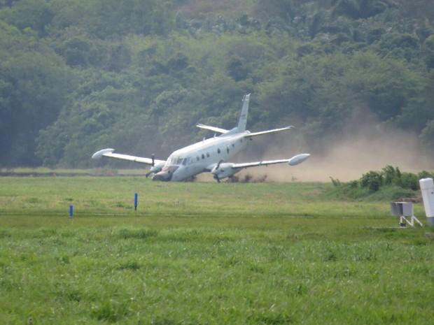 Avião Patrulha da FAB sofreu acidente (Crédito: Divulgação)