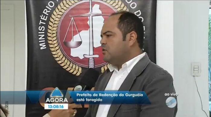 Coordenador do Gaeco, promotor Roômulo Cordão (Crédito: Reprodução)