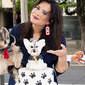 Geisy Arruda compra roupa de grife para cachorro usar em sua festa