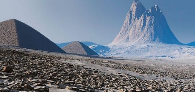 Revelado mistério sobre as pirâmides da Antártida